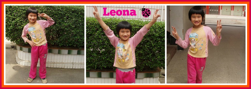 Leona collage