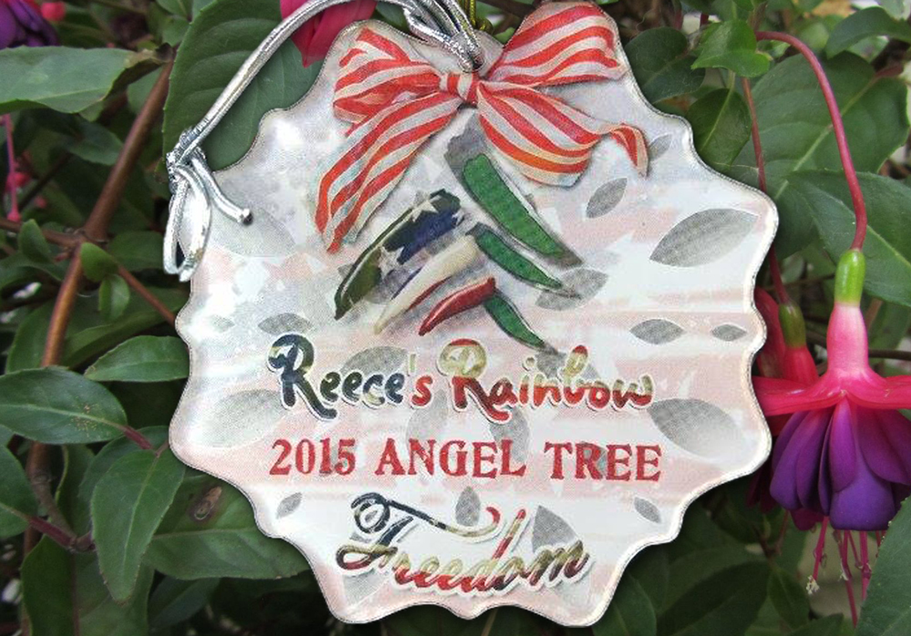 2015 Angel Tree Ornament Front