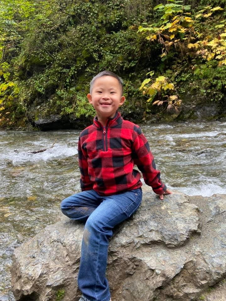 </p> <h4>DS adoption gives them an opportunity to be part of a family, to get the love & attention they deserve! Our kiddo has added so much to our lives! He brings so much joy to everyone he is around!</h4> <p>
